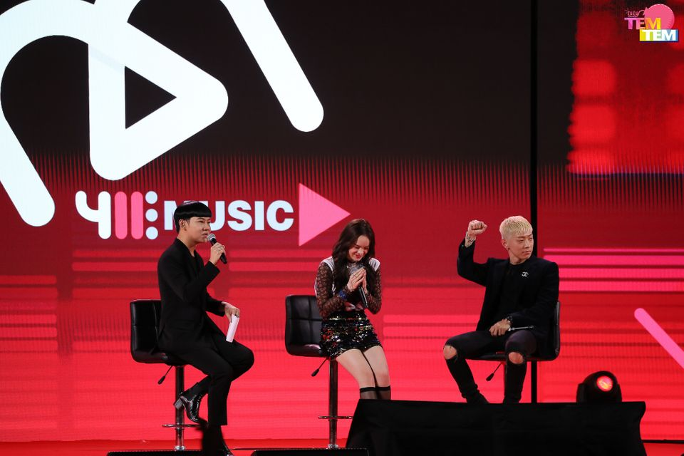 [PIC] 411Music Press Conference amp; ALLY's Debut Showcase
