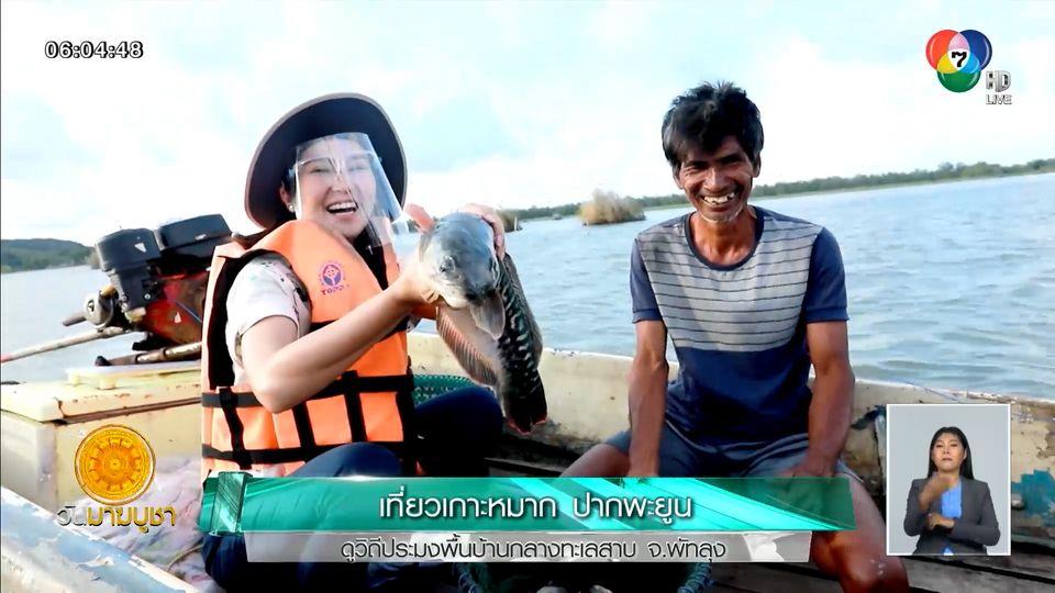 เช้านี้วิถีไทย : เที่ยวเกาะหมาก ปากพะยูน ดูวิถีประมงพื้นบ้านกลางทะเลสาบ จ.พัทลุง