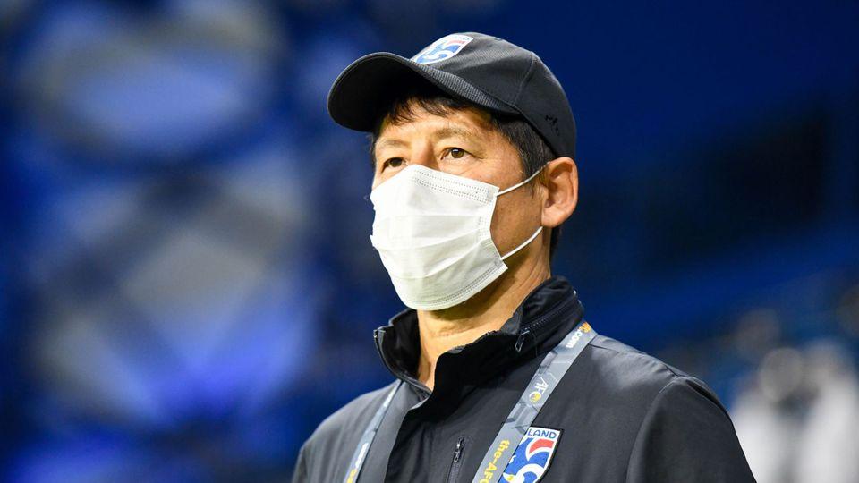 นิชิโนะ ยอมรับทีมชาติไทยลุ้นเข้ารอบต่อไปเหนื่อย หลังทำได้แค่เสมอ อินโดนีเซีย
