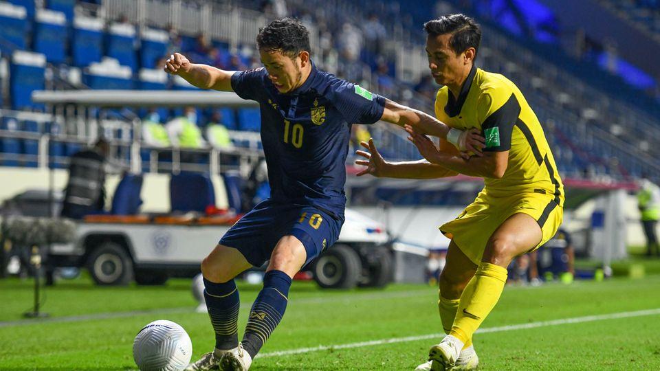 ทีมชาติไทย ยังไม่ฟื้น! แพ้ มาเลเซีย 0-1 ส่งท้ายฟุตบอลโลก รอบคัดเลือก รั้งรองบ๊วยกลุ่ม จี