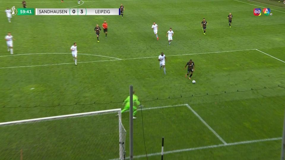ไฮไลต์ฟุตบอลเดเอฟเบ โพคาล ซานด์เฮาเซน 0-4 ไลป์ซิก
