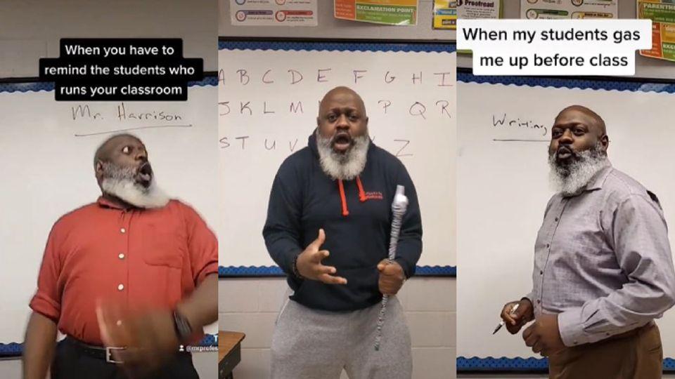 Nick Harrison คุณครูสายร็อกสุดฮา สอนธรรมดาโลกไม่จำ