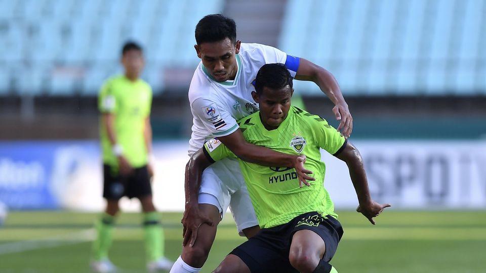 ศศลักษณ์ นำทัพ ชุนบุคฯ ดวลโทษชนะ บีจี ปทุมฯ 4-2 เข้ารอบ 8 ทีมสุดท้ายฟุตบอล ACL 2021