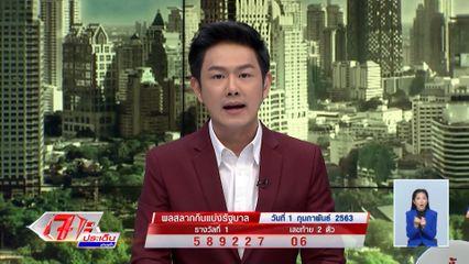 ผลสลากกินแบ่งรัฐบาล งวดประจำวันที่ 1 กุมภาพันธ์ 2563