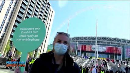 สปอร์ตแฟน Online : รัฐบาลอังกฤษอนุญาตให้แฟนบอลเข้าชมได้ในนัดเหย้านัดสุดท้ายของสโมสร แต่จำกัดจำนวนคน